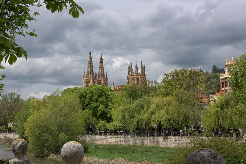 View of the Cathedral from Riverwalk