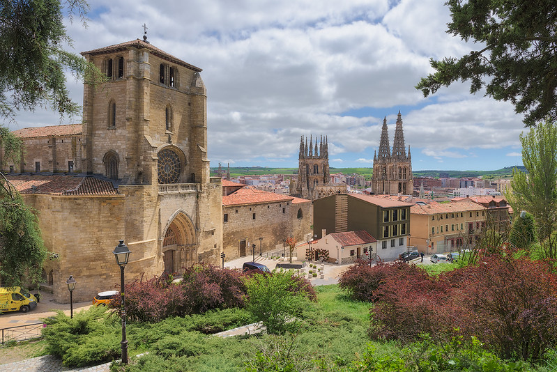 View of Catholic Church and Cathedral from Mirador