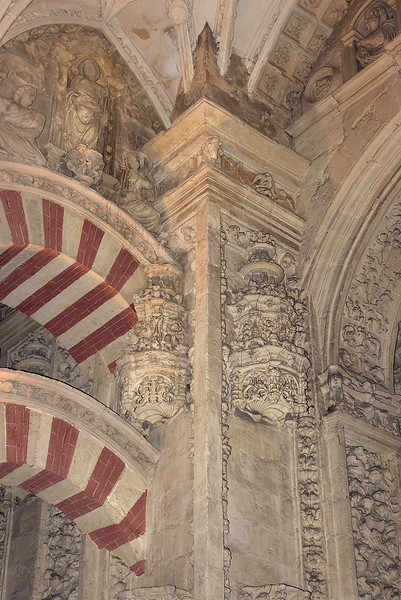Moorish Arches with Christian Decorations