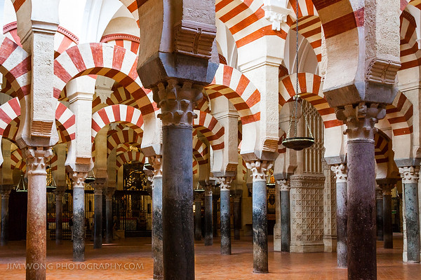 Arches, Mezquita, Córdoba
