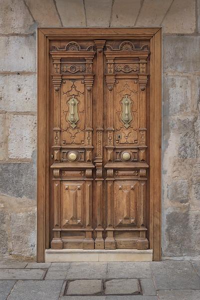 Bas-relief Door