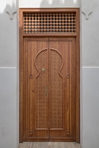 Door in Moorish Style