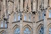 Snakes and lizards on the exterior of Gaudi's La  Sagrada Familia, Barcelona, Spain. (best larger)<br /> <br /> The cathedral is a unique synthesis of Gothic and Art Noveau architectural styles and the snakes and lizards are Gaudi's interpretation of the gargoyles that would have been placed on the exterior of Gothic cathedrals to drain water and expel evil spirits.