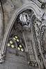 Interior detail of Gaudi's La Sagrada Famiilia, Barcelona, Spain (best larger)