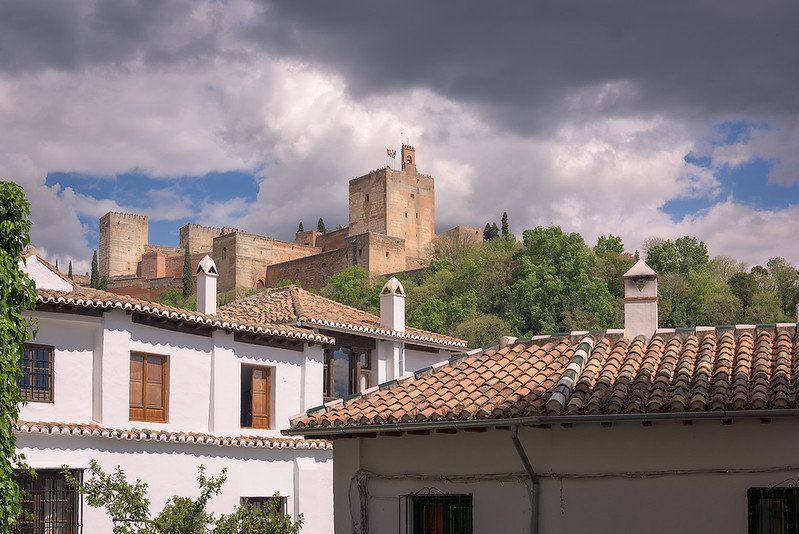 La Alhambra from the Albaicín