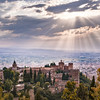 Overlooking the Alhambra Palace - Granada