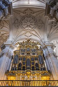 Granada Cathedral Pipe Organ - Spain