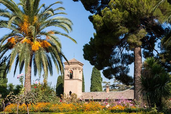 Garden, Alhambra, Granada