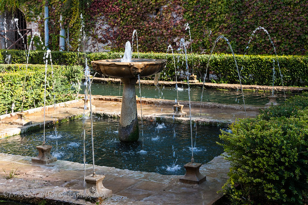 Fountain, Generalife, Granada