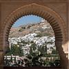 Town view, Alhambra, Granada