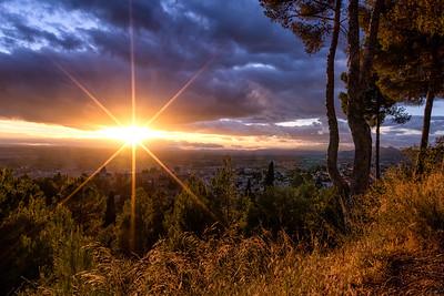 Sunset Starburst - Granada