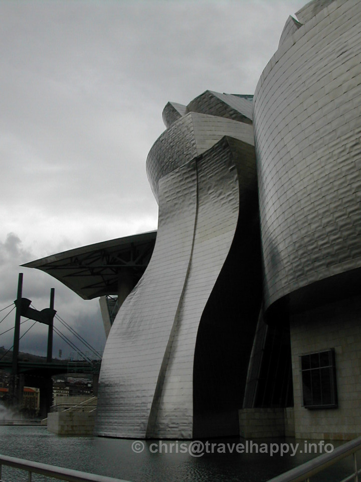"Guggenheim Museum Bilbao, Spain 2002 // See more of my travels at <a href=""http://travelhappy.info"">Travel Happy</a>"