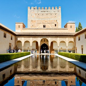 La Alhambra - Palacios Nazaries