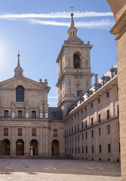 El Escorial Church and Bell Tower