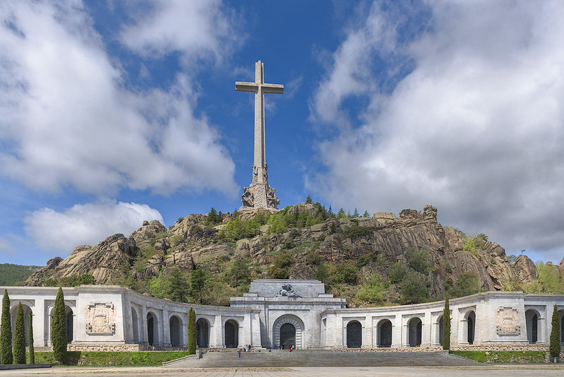 Monument of Fallen, Escorial, Spain