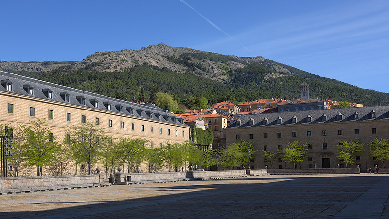Landscape with El Escorial