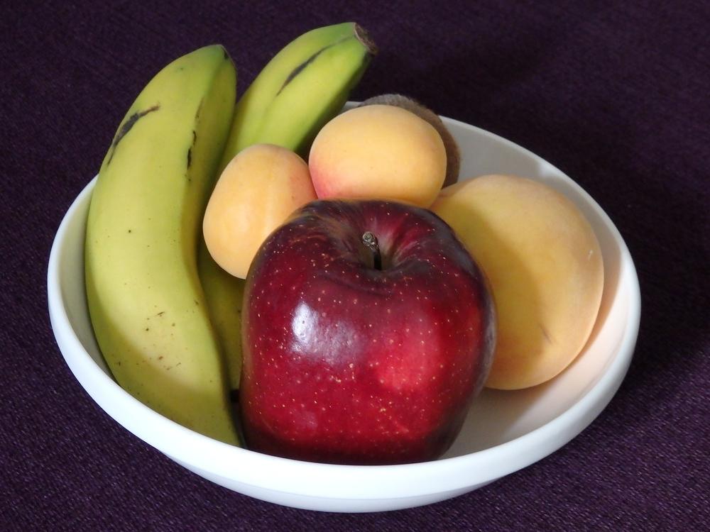 Radisson Blu Hotel Madrid Prado welcoming fruit platter