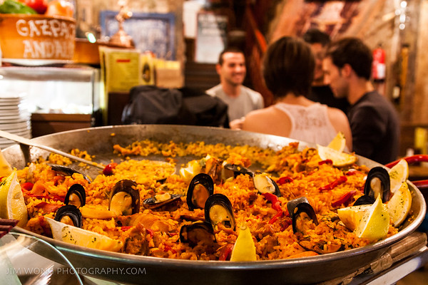 Paella, Madrid