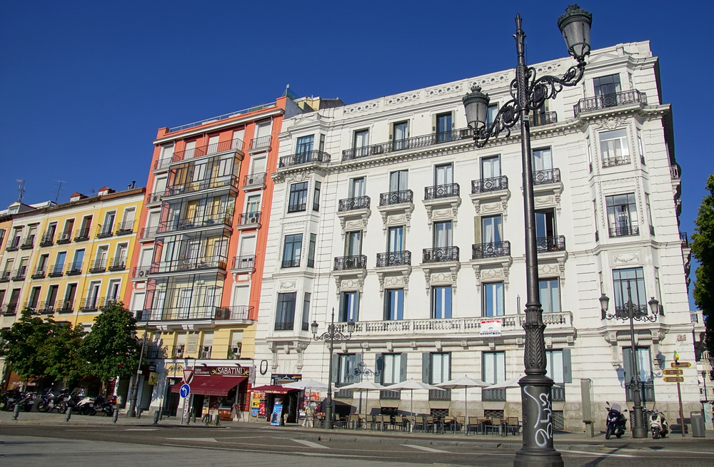 Maybe someday I'll be living in an apartment in Madrid!