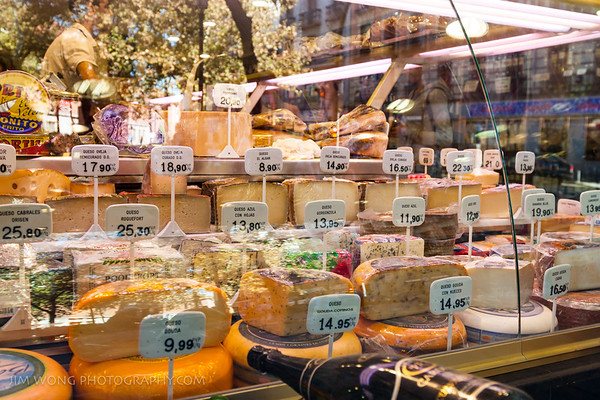 Cheeses, Madrid