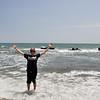 Wet feet in the Mediterranean sea - June 20