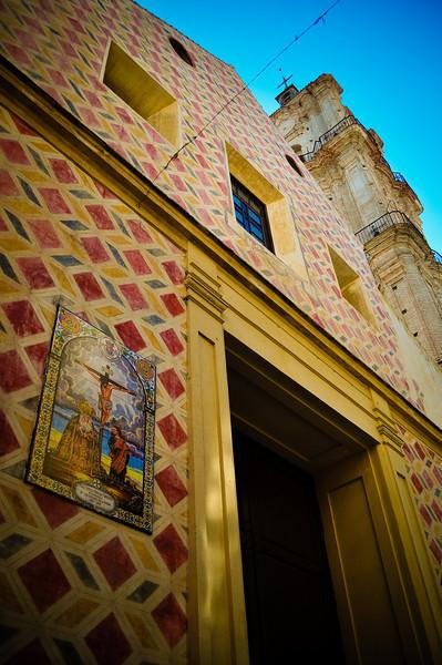 June 19 - Church in Malaga, Spain.