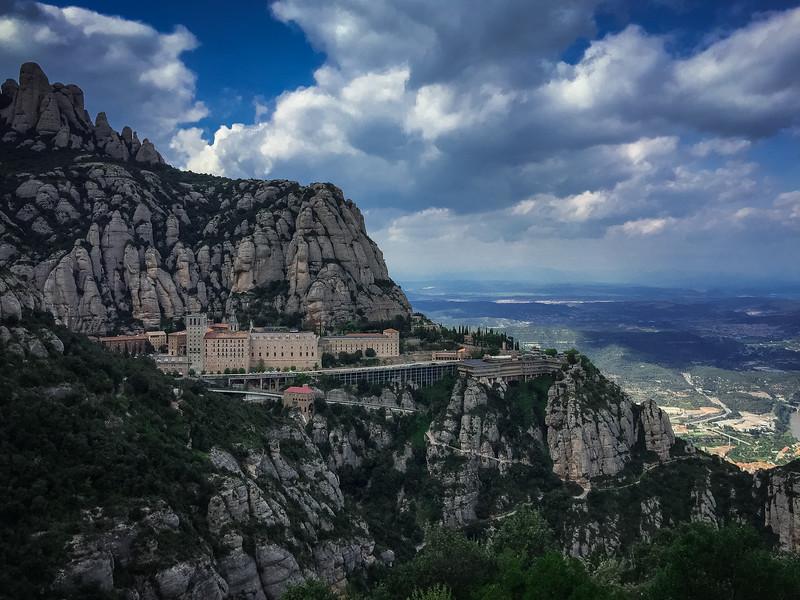 montserrat monastery catalonia