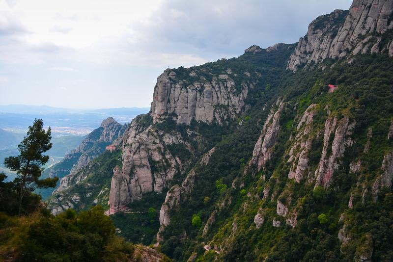 montserrat mountain range spain