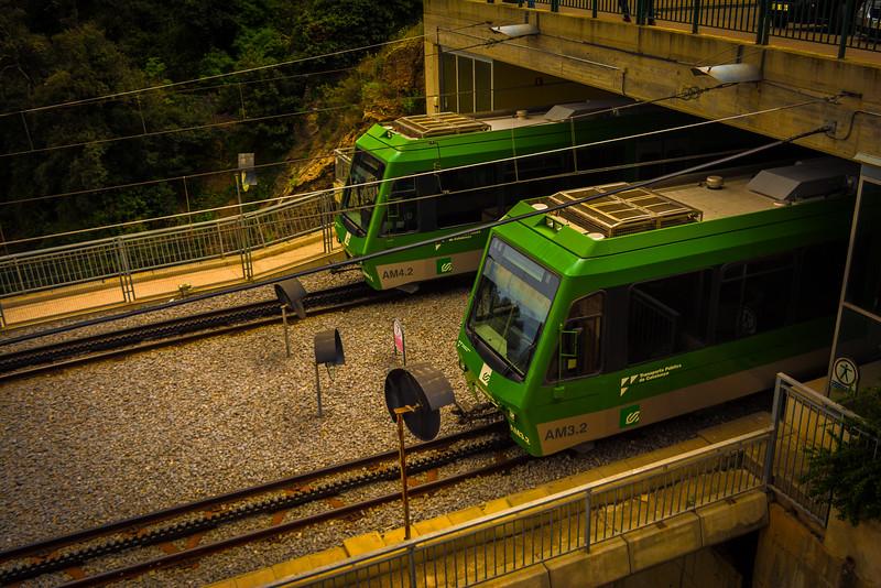 rack railway montserrat day trip from barcelona