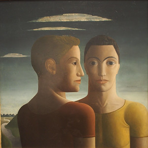 Luis Castellanos, The Athletes,1940