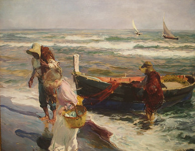 Joaquîn Sorolla, Return from Fishing, 1899
