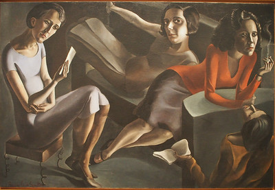 Angeles Santos, The Gathering, 1929