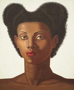 Maruja Mallo, Head of a Negro Woman, 1946