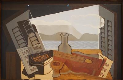 Juan Gris, Open Window, 1921
