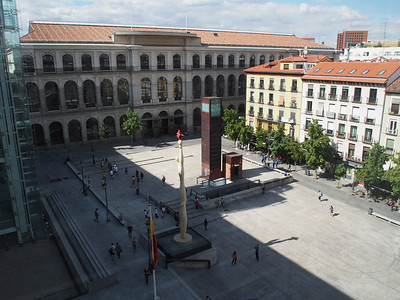 View from Museo Reina Sofia, Madrid