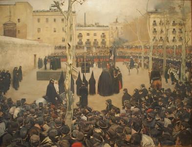 Ramon Casas, Garrotte, 1894