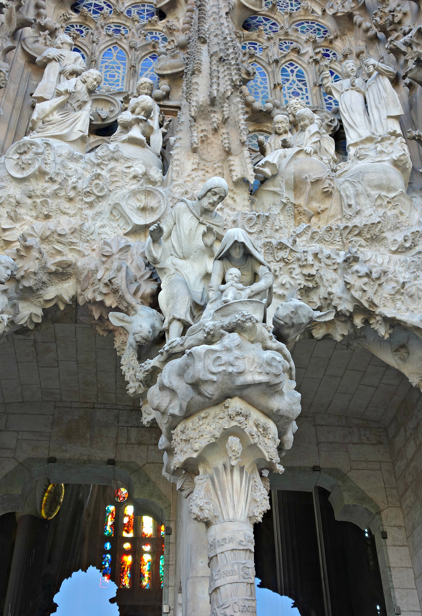 Detail of the Nativity Façade