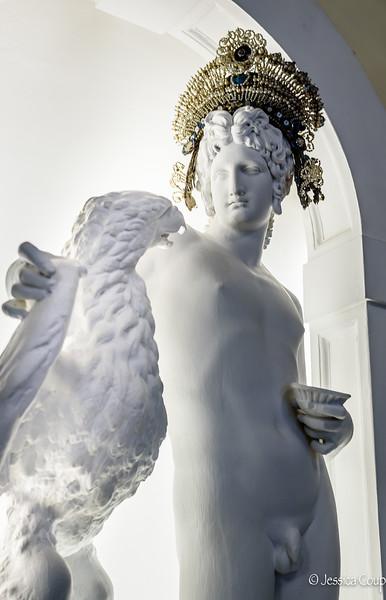 Sculpture in the Hallway
