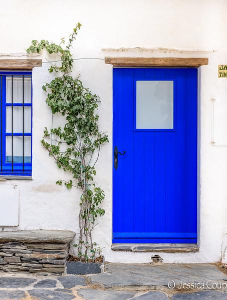 Blue Window and Blue Door