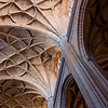 Vaulted ceiling, Segovia Cathedral