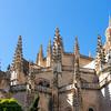 Spires, Segovia Cathedral