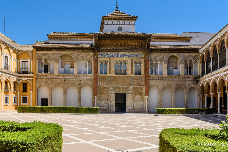 Courtyard of the Royal Palace