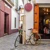 Bike Outside the Shop