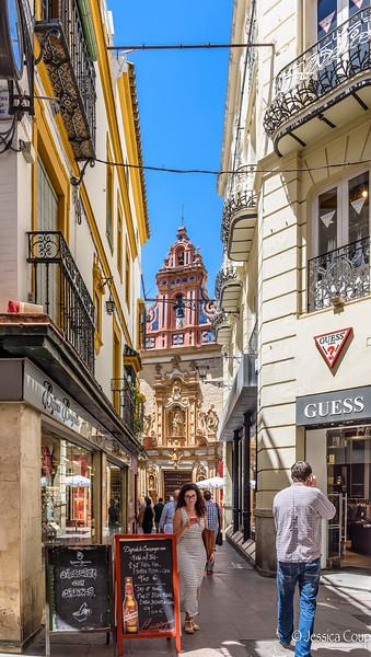 Narrow Streets of Sevilla