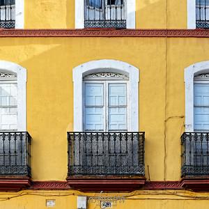 Seville - Balconies