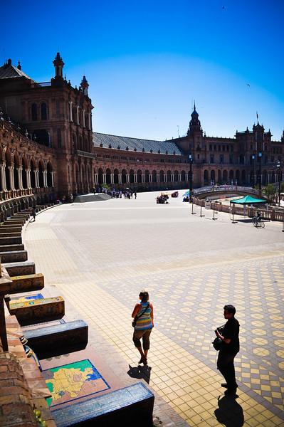 June 22 - Plaza de Espana