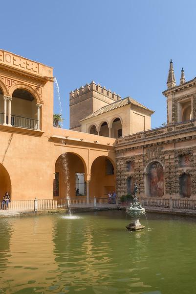 The Famous Alcazar Fountain