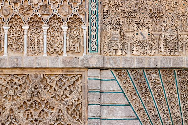 Wall detail, Reales Alcázares, Seville
