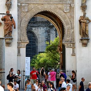 Seville - Cathedral Entrance