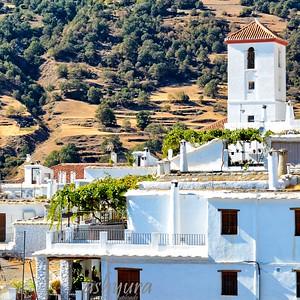 Capileira - White roofs